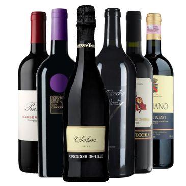 Selezione vini per la grigliata