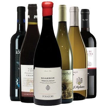 Selezione I vini di montagna