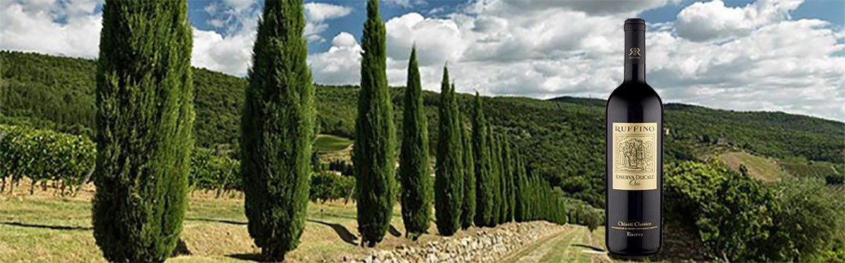 Ruffino: tradizione toscana dal 1877