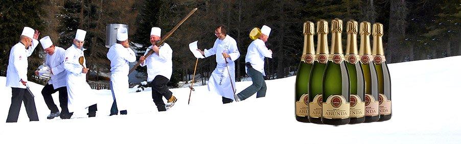 Arunda: vini spumanti di montagna dei grandi chef