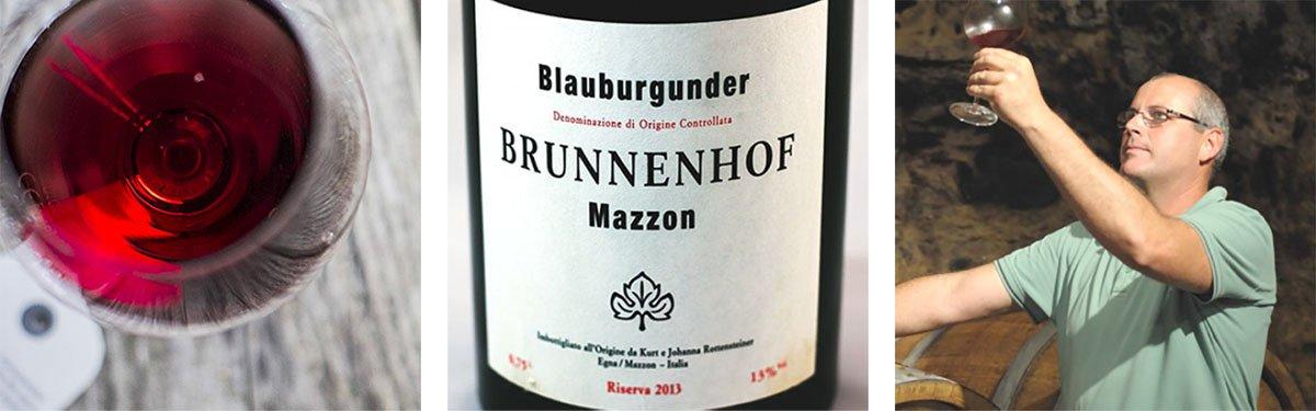Brunnenhof: nel regno del Pinot Nero