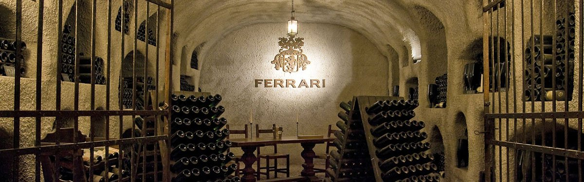 Ferrari Spumante Trento Doc: Champagne di montagna.