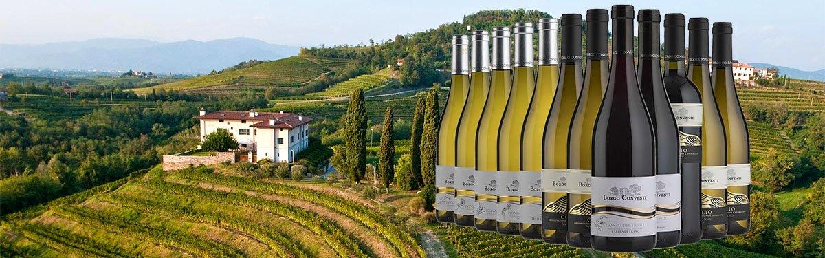 Borgo Conventi: vini friulani al 100%