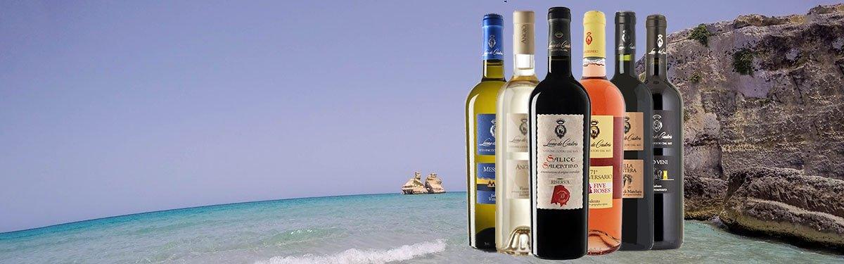 Leone De Castris: i migliori vini del Salento