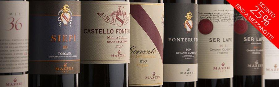 Cantina Marchesi Mazzei: vini toscani famosi nel mondo