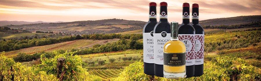 Poggio Torselli: Brandy e vini toscani nati nel Chianti Classico