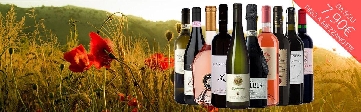 i 10 vini più amati di primavera: