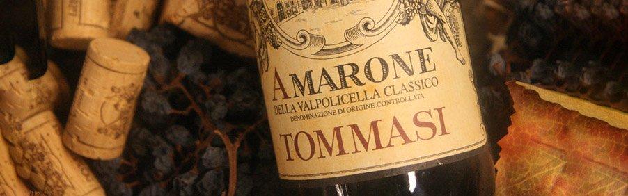 Cantina Tommasi: vini da invecchiamento nati in Valpolicella