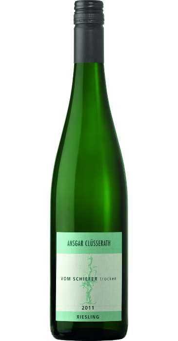 Clüsserath Riesling Vom Schiefer trocken 2011 Deutscher Qualitätswein