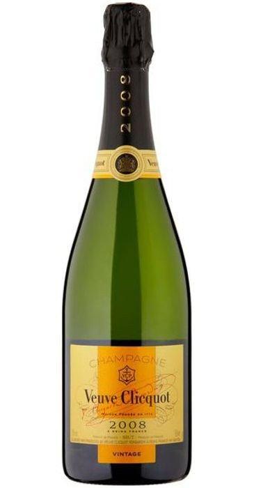 Veuve Clicquot Ponsardin Champagne Brut Vintage 2008 Champagne AOC
