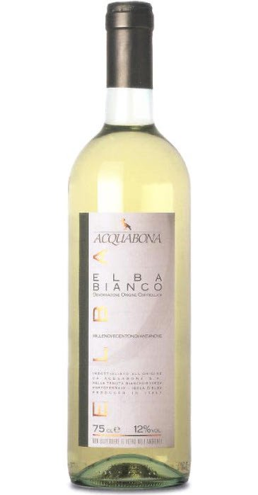Acquabona Elba Bianco 2012 Elba DOC