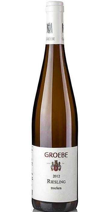 Groebe Riesling trocken 2012 Deutscher Qualitätswein