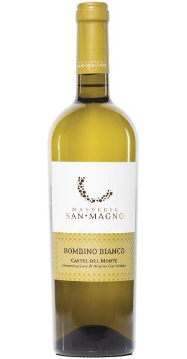 Masseria san Magno Bombino Bianco 2016 Castel del Monte DOC