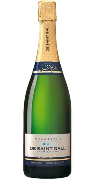 De Saint Gall Extra Brut Blanc de Blancs Champagne Premier Cru