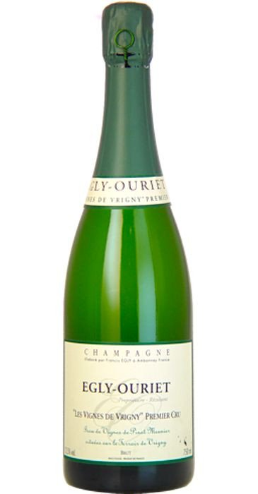 """Egly-Ouriet Champagne blanc de noirs """"Les Vignes de Vrigny""""  Champagne premier Cru"""