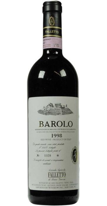 Barolo Falletto 1998 Barolo DOCG