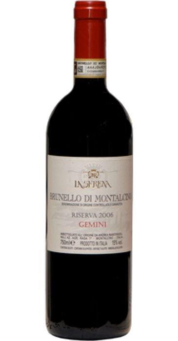 La Serena Gemini 2004 Brunello di Montalcino DOCG