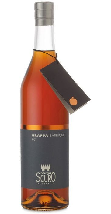 Borgo Scuro Grappa Barrique