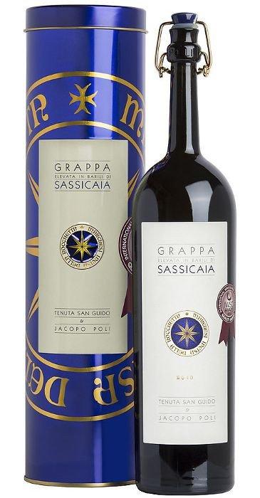 Jacopo Poli Grappa di Sassicaia