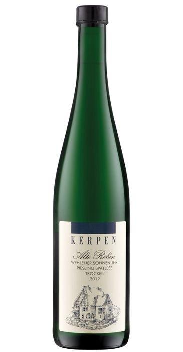 Kerpen Alte Reben Wehlener Sonnenuhr Riesling Spätlese trocken 2012 Deutscher Qualitätswein
