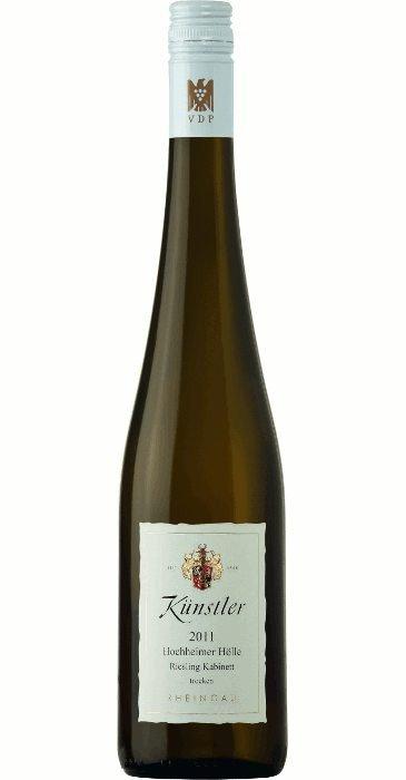 """Künstler Riesling """"Hölle"""" Kabinett trocken 2015 Kabinett trocken,  Deutscher Qualitätswein"""