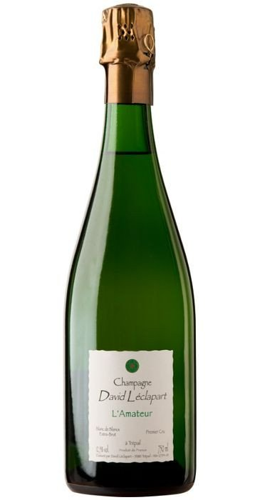 David Léclapart Champagne  L'AMATEUR Blanc de Blancs Non Dosé  Champagne Premier Cru