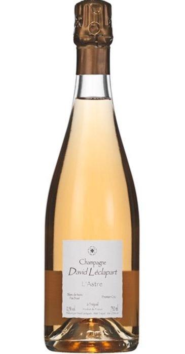 David Léclapart Champagne L'ASTRE Blanc de Noirs Pas Dosé  Champagne Premier Cru