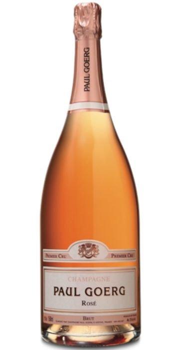 Paul Goerg  Champagne Brut Rosé Magnum Champagne Premier Cru