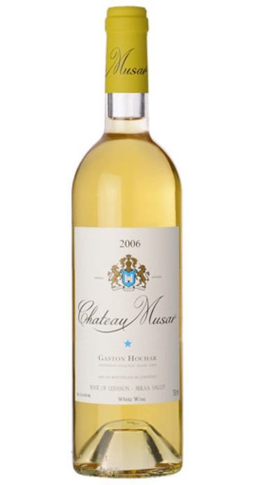 Chateau Musar White 2008 Bekaa Valley