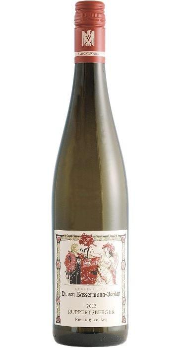 """Bassermann - Jordan Riesling """"Ruppertsberg"""" trocken  2015 Deutscher Qualitätswein"""
