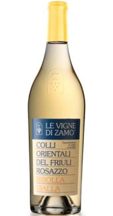 Le vigne di Zamó Ribolla Gialla di Rosazzo 2013 Colli Orientali del Friuli DOC
