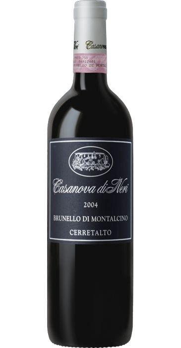 Casanova di Neri Cerretalto Brunello di Montalcino 2004 DOCG