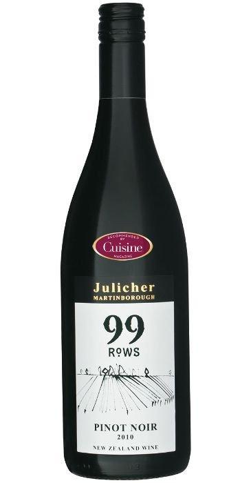 Julicher 99 Rows Pinot Nero 2012 Martinborough
