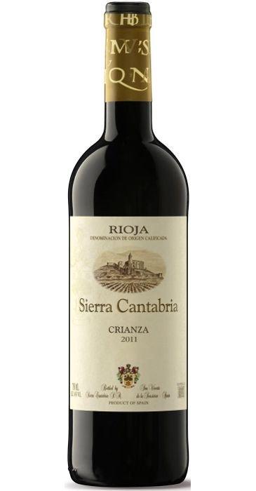 Sierra Cantabria Crianza 2012 Rioja DOC