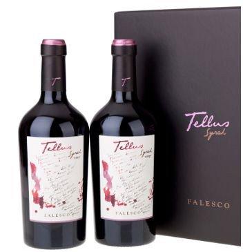 Falesco Tellus confezione due bottiglie 2015 Lazio IGP