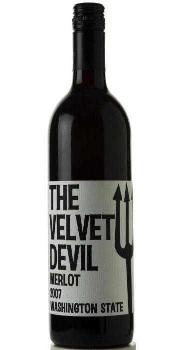 Charles Smith The Velvet Devil Merlot 2016 Washington State