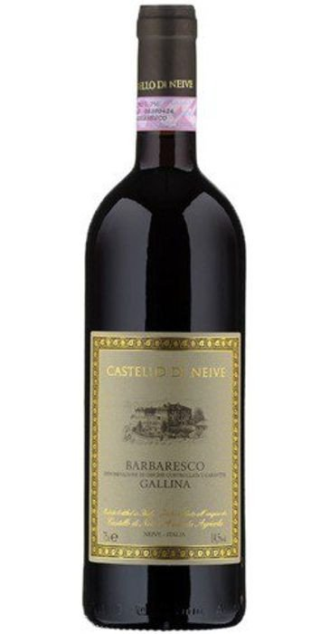 Castello di Neive Barbaresco Gallina  2014  Barbaresco DOCG