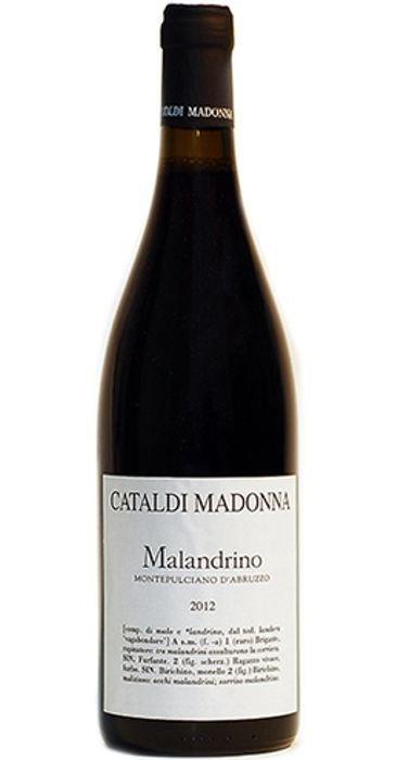 Cataldi Madonna Malandrino 2016 Montepulciano d'Abruzzo DOC