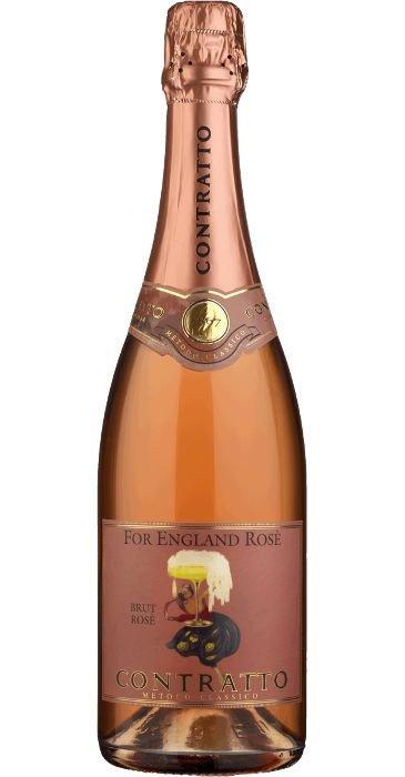 Contratto For England Rosé Pas Dosé Methodo Classico 2015 VSQ