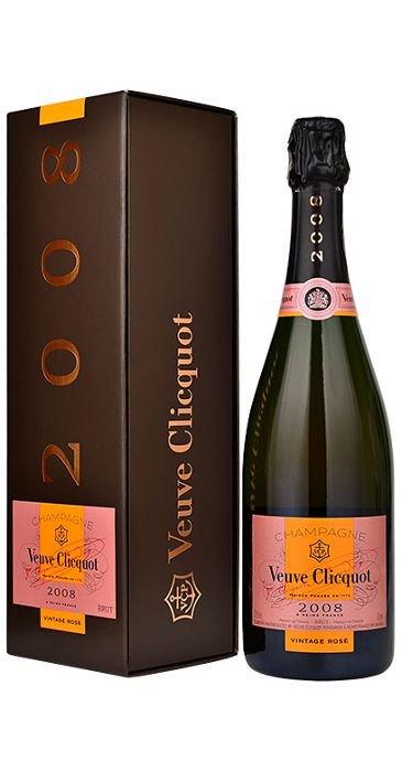 Veuve Clicquot Ponsardin Champagne Vintage Rosé 2008 Champagne AOC