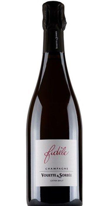 Vouette & Sorbée Champagne CUVÉE FIDÈLE Blanc de Noirs Extra Brut Magnum Champagne AOC
