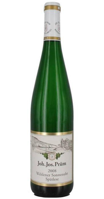 J.J. Prüm Riesling Wehlener Sonnenuhr Spätlese 2012 Deutscher Qualitätswein