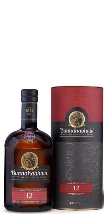 Bunnahabhain Islay Single Malt Scotch Whisky  12 Years Old