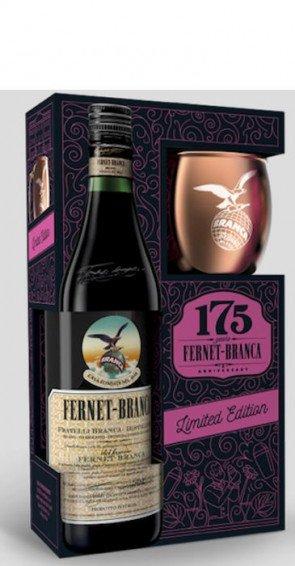 F.lli Branca Fernet Branca edizione speciale con bicchiere