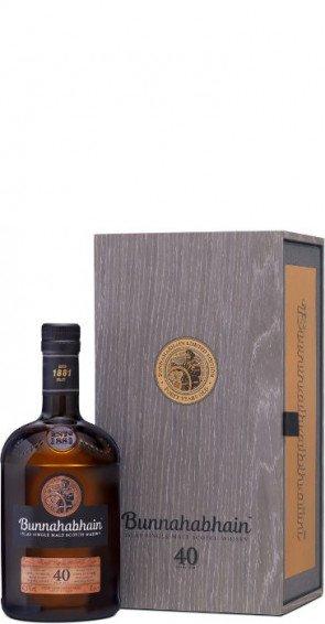 Bunnahabhain Islay Single Malt Scotch Whisky  40 Years Old