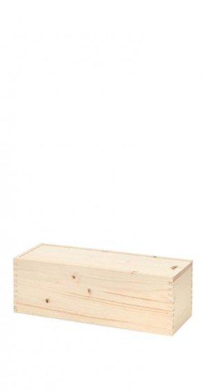 Cassetta di legno per una bottiglia