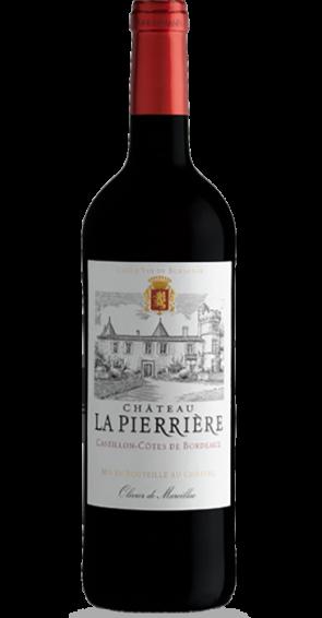 Château La Pierrière Castillon-Cötes de Bordeaux 2017 Côtes de Bordeaux AOC