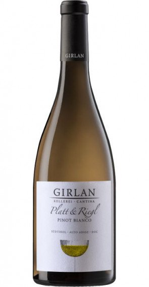 Girlan Platt & Riegl Pinot Bianco 2018 Alto Adige DOC