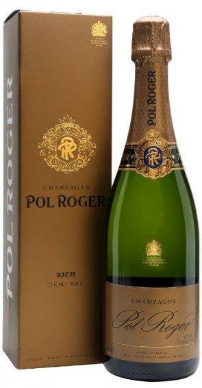 "Pol Roger Demi Sec "" Rich"" Champagne AOC"