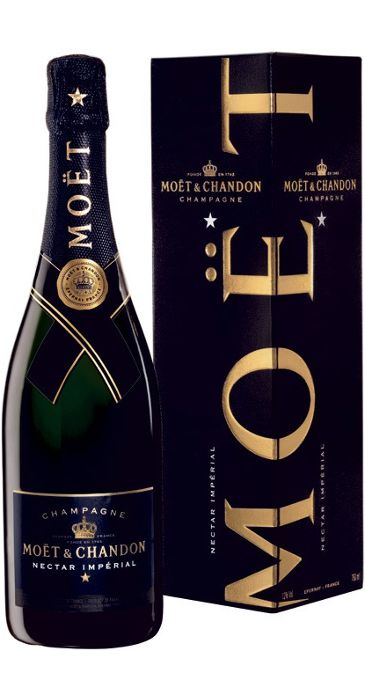 Champagne Moët Nectar Impérial astucciato